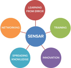 Figure 1: SENSAR multimodal strategy developed in 2013 (5 years after foundation).